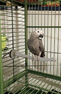 Thermo Heated Perch & Sand Thermo-Perch Protect Birds from Air Conditioning Cold