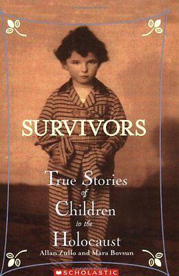 Survivors  True Stories Of Children In The Holocaust By Allan Zullo