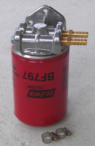 remote diesel fuel filter