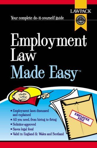 Employment Law Made Easy,Melanie Slocombe- 9781904053880