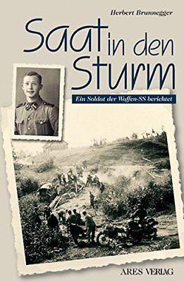 SAAT IN DEN STURM Ein Soldat berichtet Biografie Kursk Charkow Russland Buch