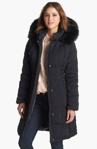 Womens Knee Length Coat Ebay