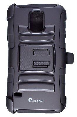 SAMSUNG GALAXY S5 i-Blason Prime Dual Layer Holster Phone Ca