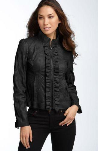 Kenneth Cole Women S Leather Jacket