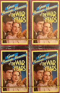 Readers Digest The War Years Audio Cassettes