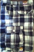Boys Plaid Shorts Size 12