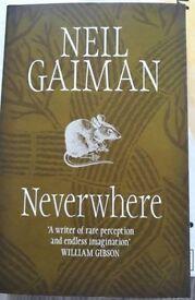Neverwhere book by Neil Gaiman BRAND NEW