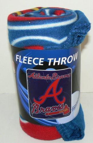 Atlanta Braves Bedroom Decor: Atlanta Braves Blanket