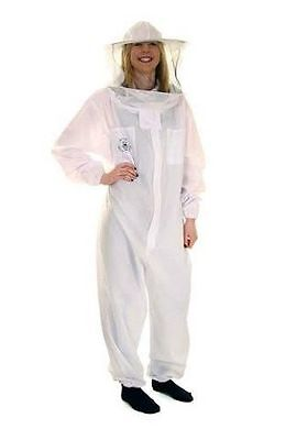 Beekeepers White Round Basic Suit - Size Childs L