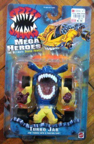 Shark Toy Box : Street sharks jab toys hobbies ebay