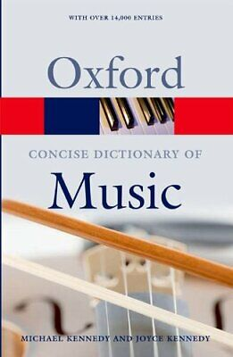 The Concise Oxford Dictionary of Music (Oxford Paperback Refer... Paperback Book