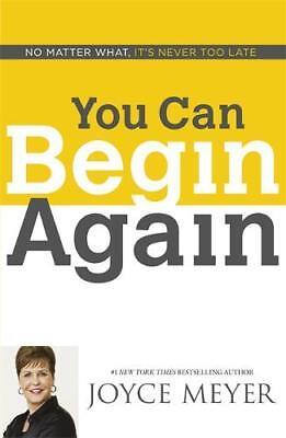 You Can Begin Again, Meyer, Joyce, New
