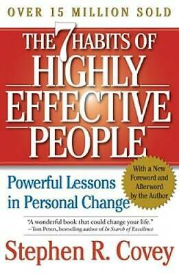 The 7 Habits of Highly Effective People: Powerful Lessons in Personal - GOOD