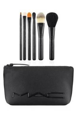 MAC Cosmetics Look in a Box Basic Brush Set New Unboxed With - Basic Make Up
