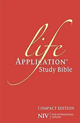 NIV Compact Life Application Study Bible (Anglicised): Hardba New Hardcover Book