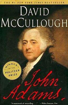 2nd USA President John Adams Biography Pulitzer Prize Father #6 Prez John Quincy