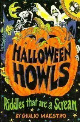 Halloween Brain Teasers (HALLOWEEN HOWLS - RIDDLES THAT ARE A SCREAM, BOOK By GIULIO)