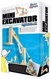 Great GizmosHydraulix - Mini Excavator. Brand new in sealed box