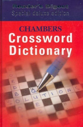 Chambers Crossword Dictionary By McGOVERN Una & SCHWARZ Catherine HIGGLETON Ela