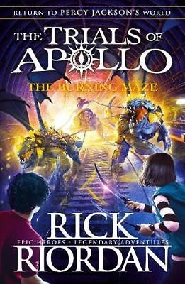 The Burning Maze  The Trials Of Apollo Book 3  By Rick Riordan