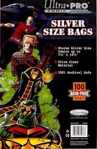 1000-Ultra-Pro-Silver-Comic-Bags-And-Boards-Brand-New-Factory-Sealed