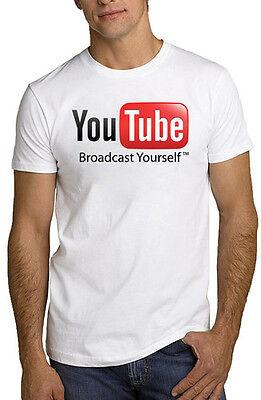 Youtube Logo Internet Video T Shirt All Sizes &