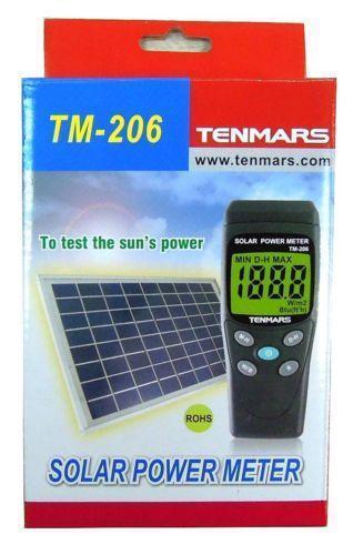 Power Meters For Solar Energy : Solar power meter ebay