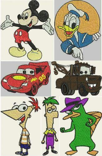 Brother Disney Embroidery Designs