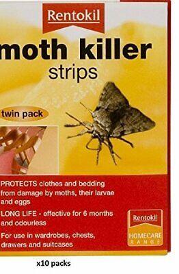Professional Moth Killer Strips x 10 packs