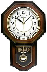 Timekeeper 180WAGM Pendulum Clock With Hourly Westminister Chime