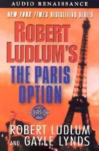 The Paris Option 3 by Gayle Lynds + Robert Ludlum 2002 Cassettes In Shrink Wrap