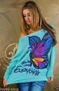 Pullover Schmetterling