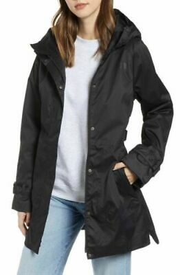 New North Face Black City Breeze Trench Coat, Size XS