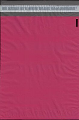 100 10x13 Amaranth PINK Poly Mailers Shipping Envelopes Couture Boutique Bags