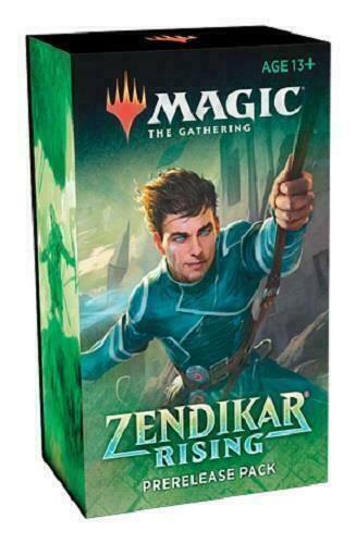 Zendikar Rising Prerelease Pack - Brand New and Factory Sealed Kit! MTG