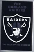 Oakland Raiders Media Guide