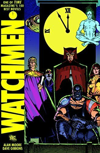 Watchmen HC by Moore, Alan Book The Fast Free Shipping