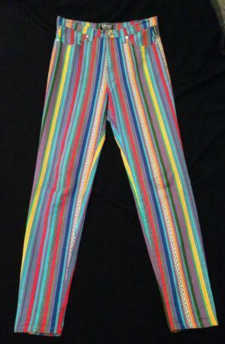 Striped Jeans Ebay