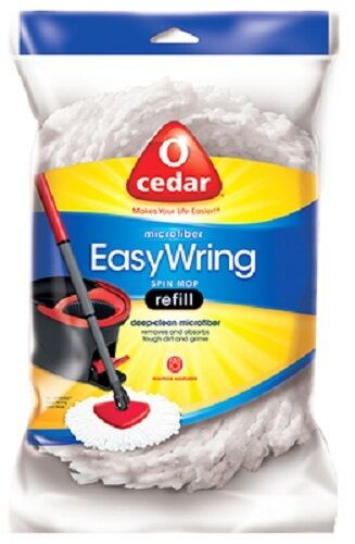 O'Cedar Easy Wring Spin Mop Head Refill: Case of 4