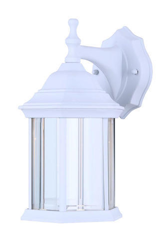 """8"""" White Traditional LED Outdoor Wall Light Weatherproof Ext"""