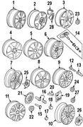 VW Factory Wheels