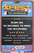Blink 182 Tour Poster