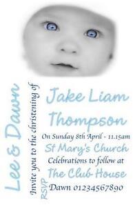 christening invitations cards invites ebay