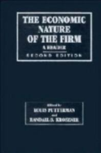 nature of the firm Coase's penguin, or, linux and the nature of the firm, 112 yale law journal 369 (2002) articles coase's penguin, or, linux and the nature of the firm yochai benklert.
