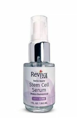 1 Ounce Reviva Labs - Reviva Labs Stem Cell Serum w/Swiss Apple Stem Cells Combats Skin Aging 1oz !!!