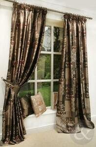 Elegant Red Tapestry Curtains
