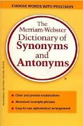 Dictionary of Antonyms