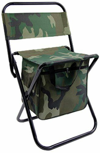 Folding Chair Foldable Small Camping Travel Picnic BBQ Fishing w/ zippered  Bag