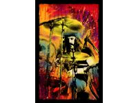 John Bonham / Led Zeppelin Art Print