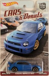 Hot Wheels Car Culture: Cars & Donuts - Subaru Impreza WRX DWH89